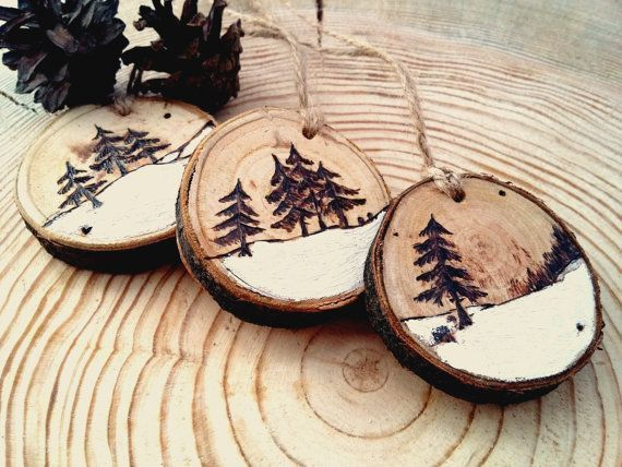 Christmas Tree, Christmas Toys, Wooden Christmas Decor, Rustic Christmas Decoration, ...