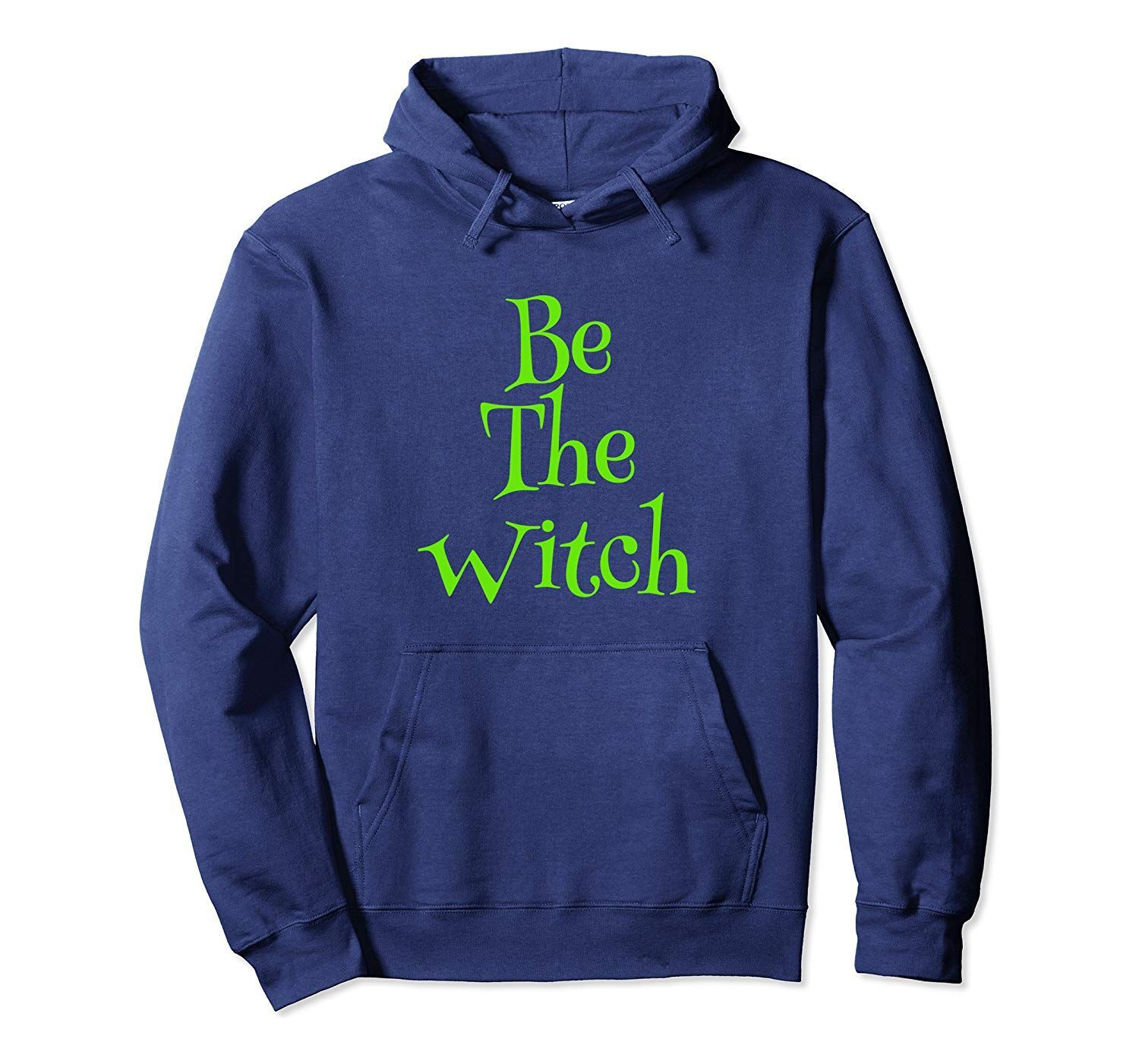 Funny 2019 Halloween Witch Costume Novelty Gift Women Girl  Pullover Hoodie