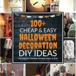 100 Cheap and Easy Halloween Decorations #halloween #halloweendecor #halloweende...