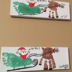 Easy And Fun Christmas Crafts For Kids - Handprint And Footprint Art