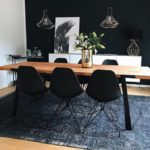 2 colors for a luxury dining room - Insplosion Blog #esszimmer #farben #insplosi ...