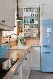 Retro kitchen ideas #bathroom
