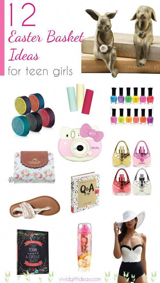Teen Easter basket ideas. Easter gifts for teen girls. #christmasgiftideasformen