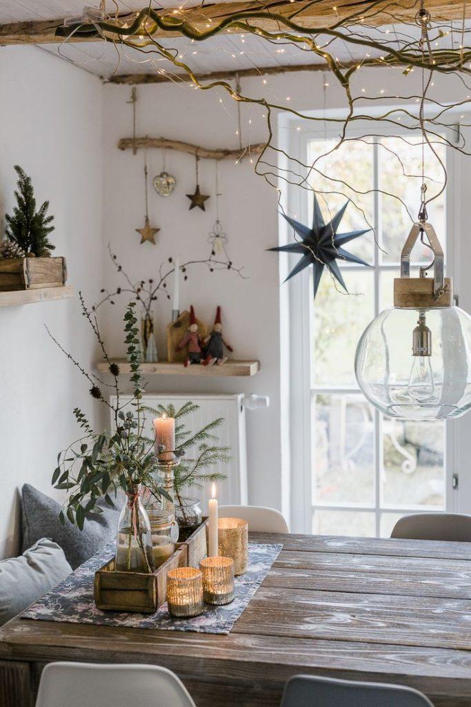 Christmas decorations and a quick DIY • pomponetti