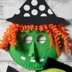 Craft Painting - DIY Witch Paper Plate Mask for Halloween from Plaid (Halloween ...