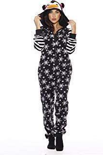 Just Love Holiday Penguin Adult Onesie/Pajamas * Details can be found by clickin...