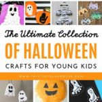 here are over 70 of the best cute and spooky Halloweencrafts for kids. From pu...