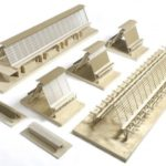 Architectural models - Special needs school - Wolff Architects