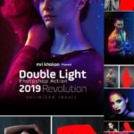 Double Light Photoshop Action 23135047 Photoshop PAT, Photoshop ATN, ZXP file | ...