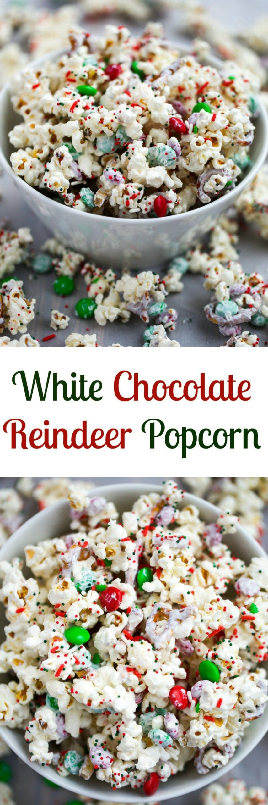 christmas #weihnachten #2020 An easy popcorn mix that comes together in 5 minute...