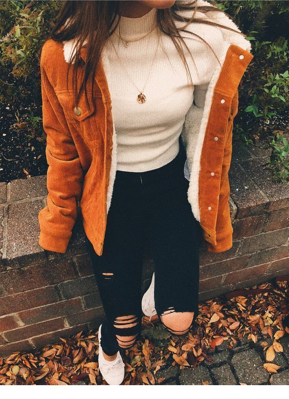 Perfect autumn outfit with a nice jacket - # Autumn outfit #Jacket #with #perfect ...