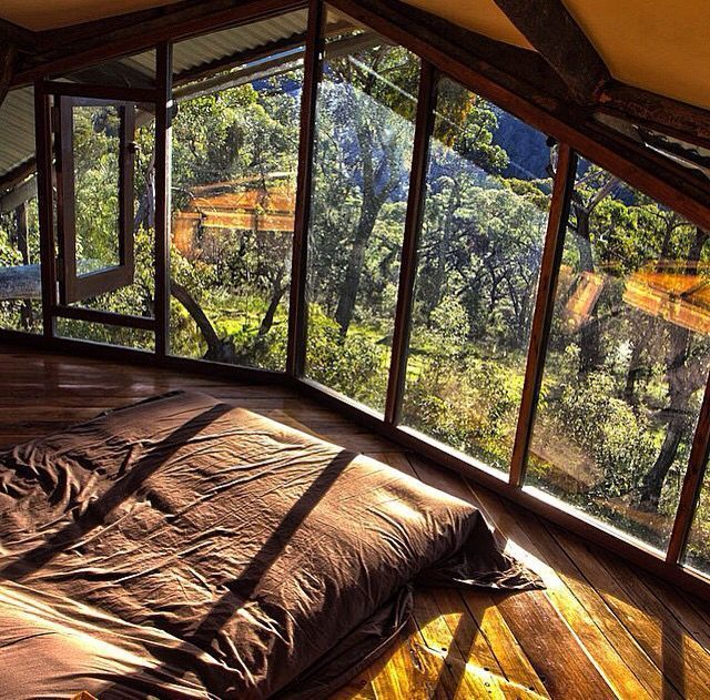 Can you imagine having this for a bedroom? This interior is killer for #outdoorw...
