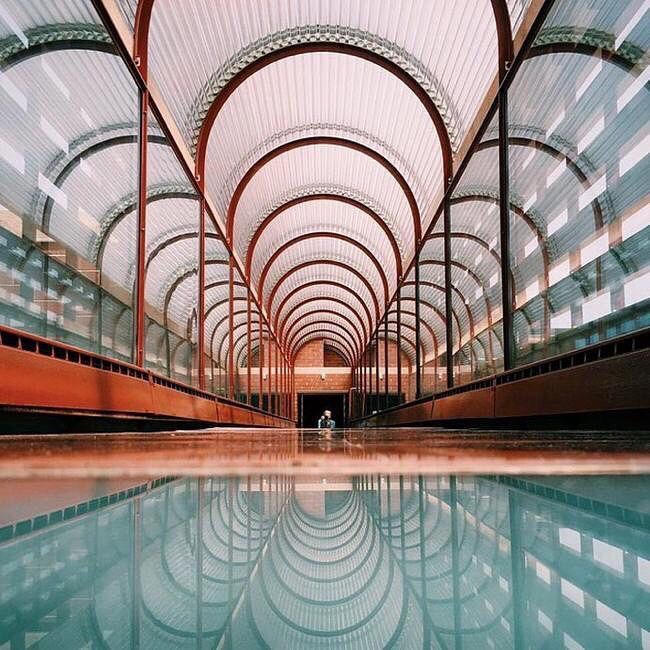 FRANK LLOYD WRIGHT, SC Johnson Wax Complex and Research Tower