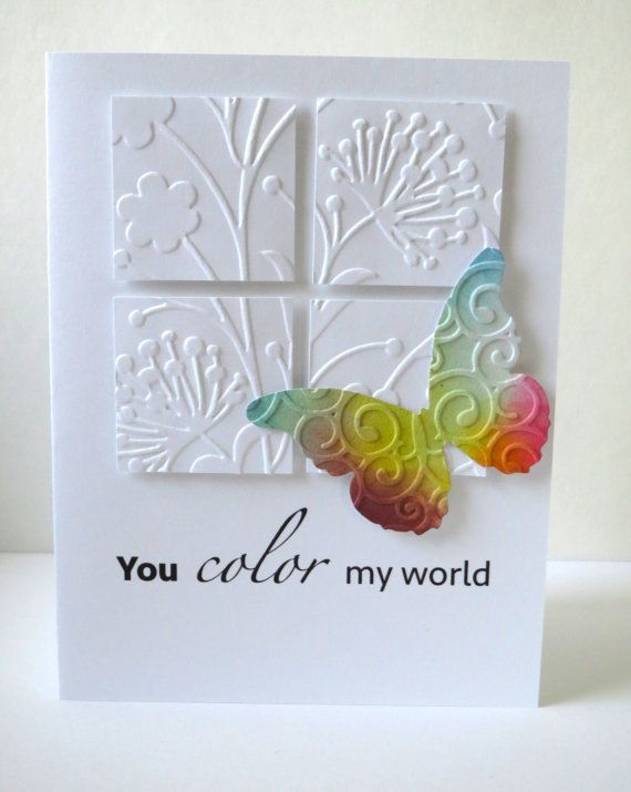 Handmade Greeting Card, Personally Crafted, Original, Stationary, Personal Touch...