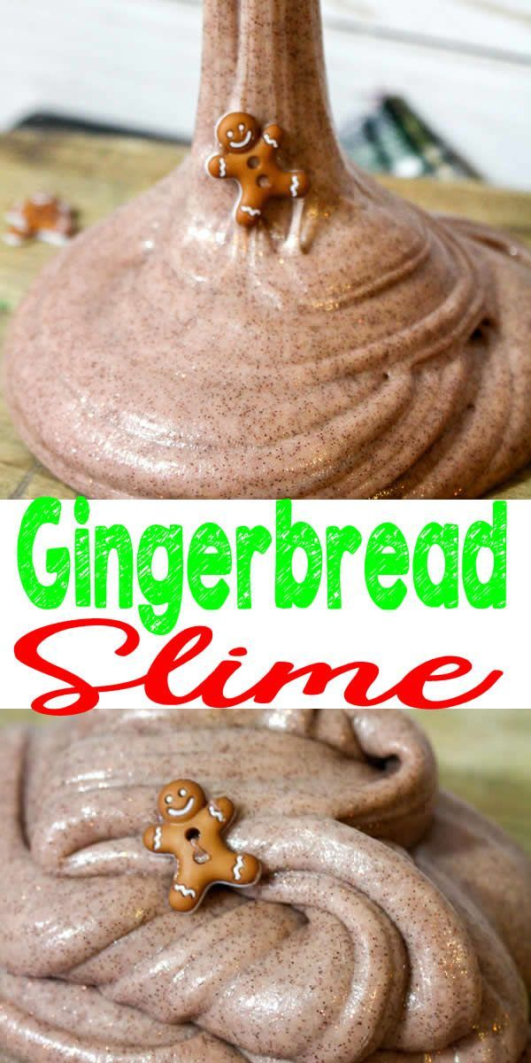 DIY Gingerbread Slime – How To Make Homemade Gingerbread Slime – Easy & Fun Recipe For Kids –...