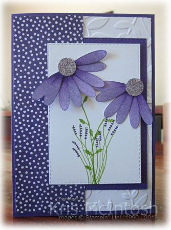 Mother's Day card – Stamping with Kris