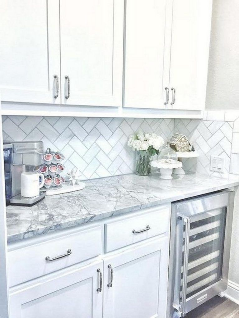 Amazing Designs of White Kitchen Cabinet to Improve in your Tiny Kitchen