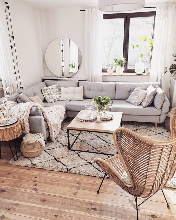 46 Comfy Scandinavian Living Room Decoration Ideas - Page 40 of 46 - SooPush - My Blog