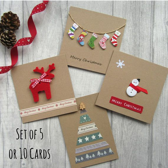 Pack of Christmas cards, Xmas card multipack, fun & cute Christmas card bundle, Christmas cards, festive cards,