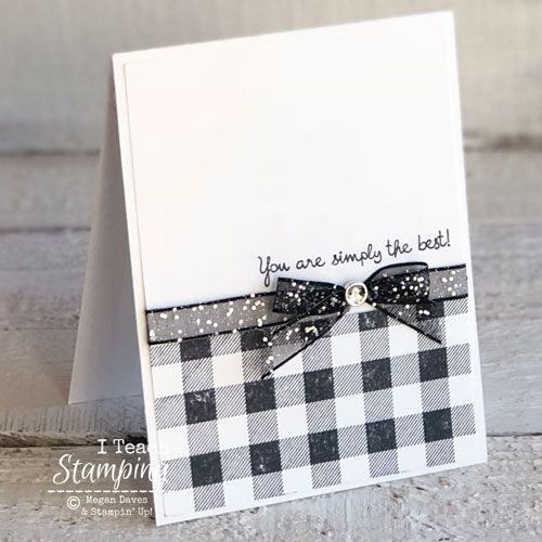 Crazy Simple Handmade Card You Can Make (I Teach Stamping)