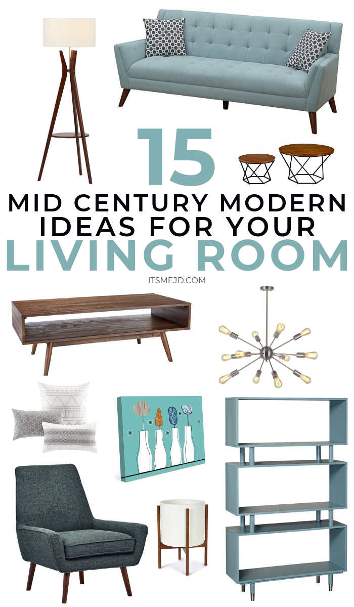 15 Mid Century Modern Living Room Decor Ideas You'll Want To Copy