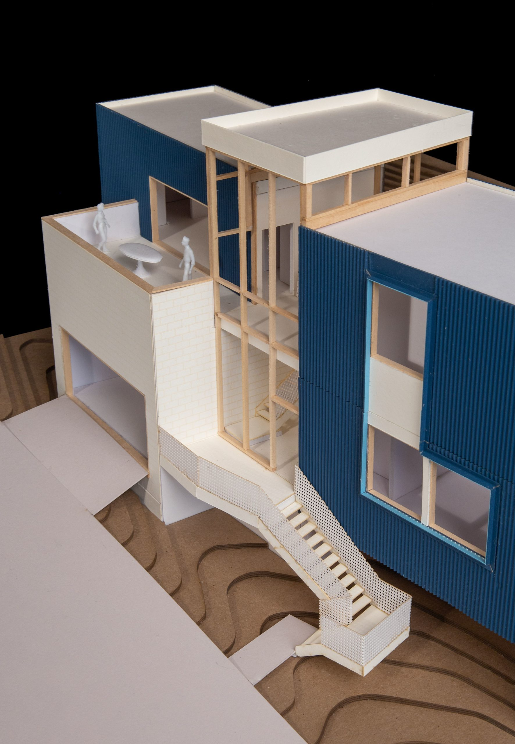 #architecturemodel of a prefabricated home