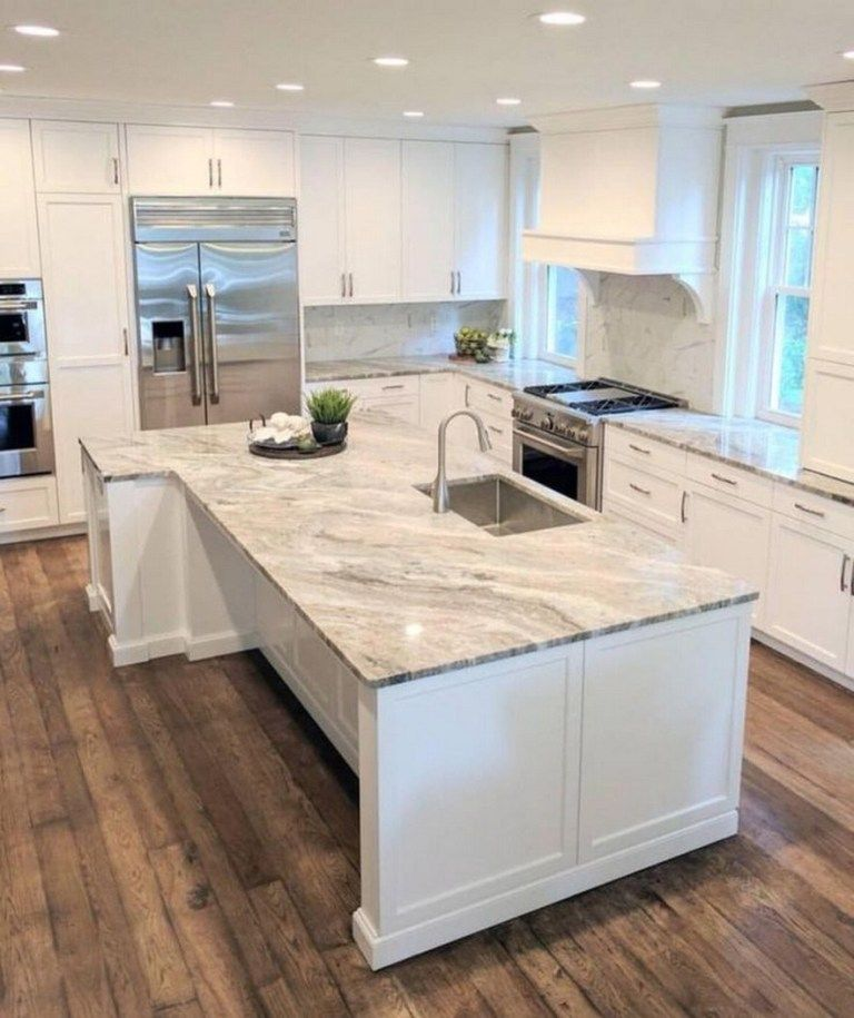 ✔74 elegant white kitchen design ideas for modern home 67 » Interior Design