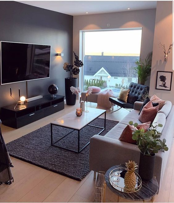 57 COMFORTABLE AND WARM LIVING ROOM IDEAS YOU'LL LOVE - Page 56 of 57 - Brey ...