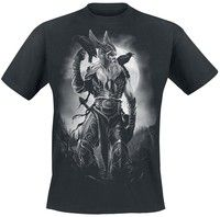 Toxic Angel Odin T-Shirt black Men Oneck Short Sleeve High quality Fashion Tshirts Printed on both sides | Wish