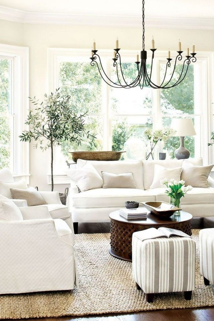 21+ Incredible French Country Living Room Ideas