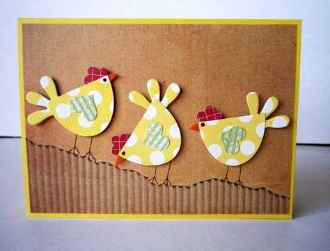 Chicks Are Sticking Together by Misstreez - Cards and Paper Crafts at Splitcoaststampers