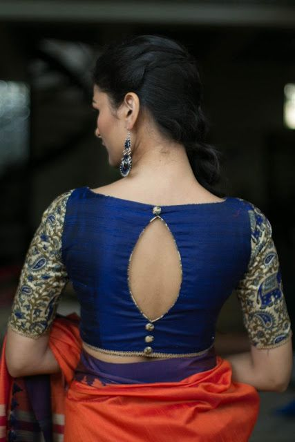 10 New High Neck Blouse Designs For Diwali | Candy Crow- Indian Beauty and Lifes...