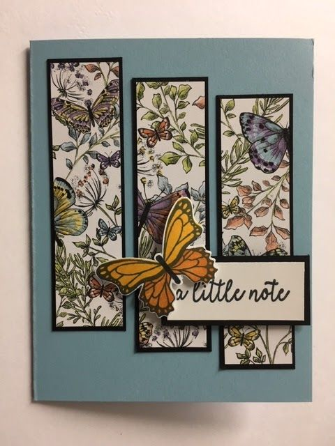 Butterfly Gala, Thinking of You Card, 2019 Stampin' Up! Occasions Catalog