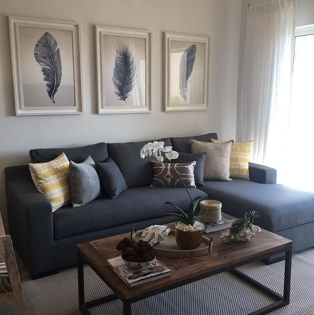 30 neutral living room ideas earthy gray living rooms to copy 5 | Autoblog