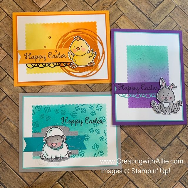 How to make Easter handmade cards   Creating With Allie