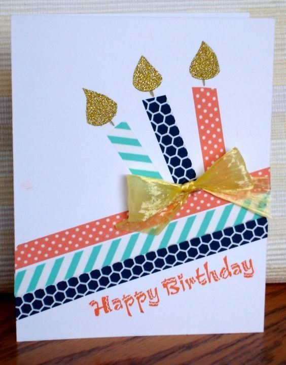 √41 + handmade birthday card ideas with pictures and steps