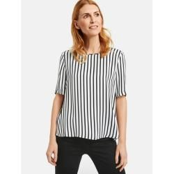 1/2 arm blouse with vertical stripes White Gerry Weber