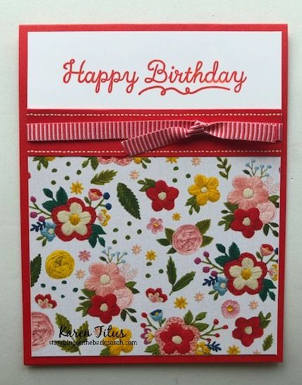 KarenTitus.com — Karen Titus, Independent Stampin Up! Demonstrator
