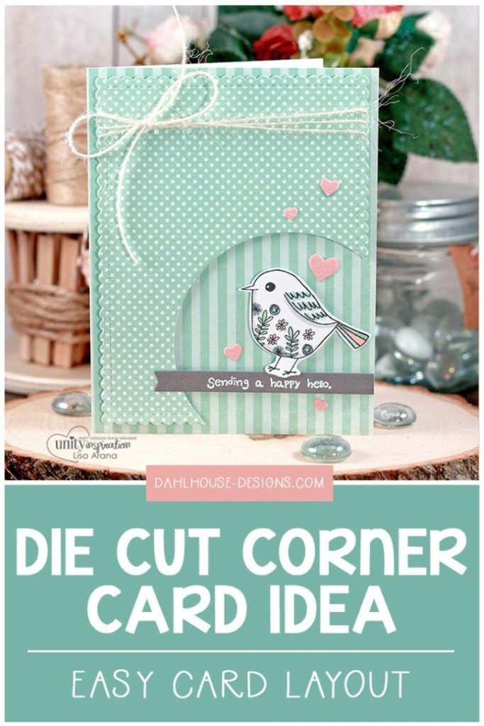 Fun & Cute Die Cut Layout + Video