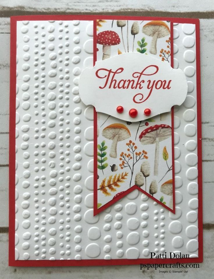 Heart Wedding Thank You Cards, Rustic Wedding Thank You Notes
