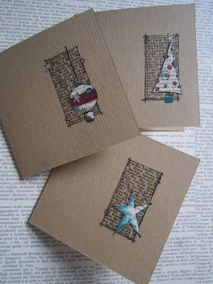 Make Your Own Creative DIY Christmas Cards This Winter | Homesthetics - Inspiring ideas for your home.