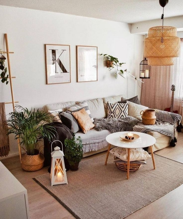 ✔90 comfy scandinavian living room decoration ideas 43 - Scandinavian Diy
