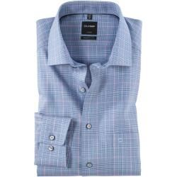 Olymp Luxor Shirt, modern fit, Global Kent, Royal, 42 Olympolymp