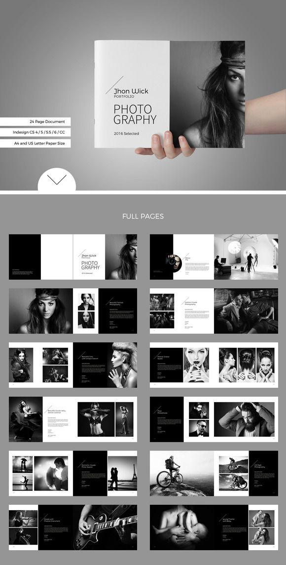Portfolio / Photobook by sevenbenua on Creative Ma ... - #Creative #layout #ma #P ...