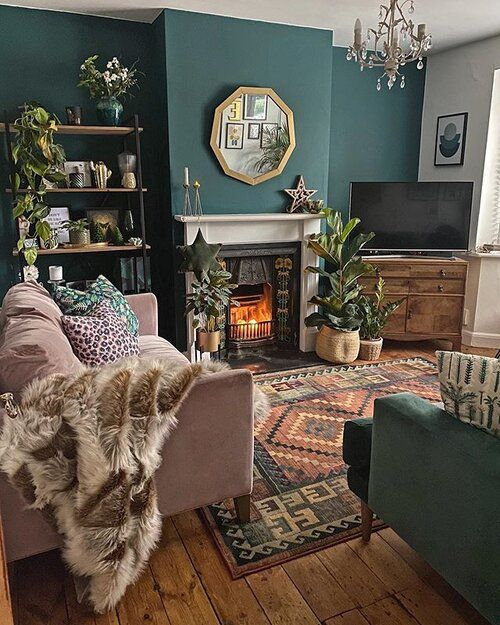 How To Use Dark Green in Your Living Room — Melanie Jade Design
