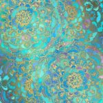 'Sapphire & Jade Stained Glass Mandalas' posters by micklyn