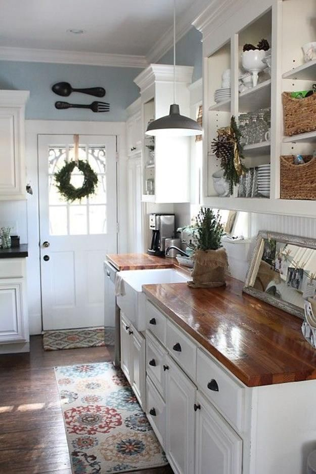 Stunning little cottage kitchen decorating ideas 15 - DecoRewarding - Whe ...