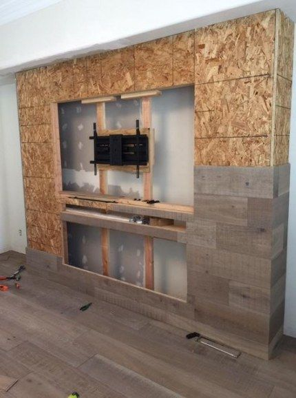 Decor ideas for living room with fireplace tv walls 46+ Trendy Ideas - Built in ...