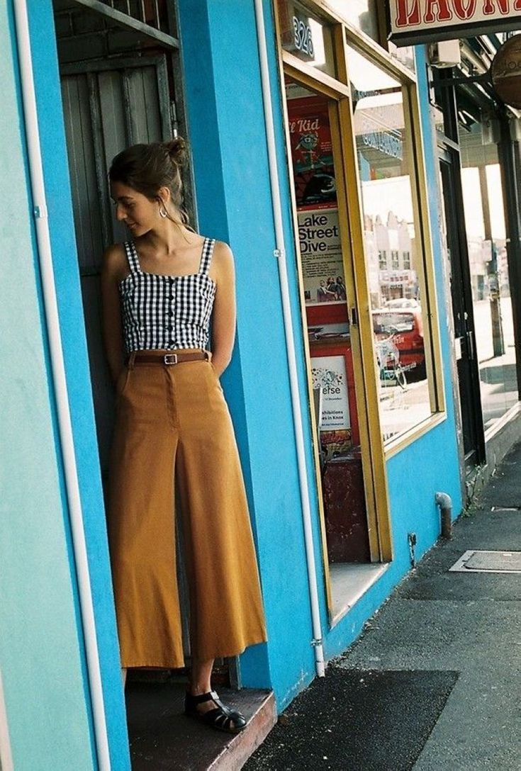 45 stylische Herbstoutfits mit Cullotes #cullotes #herbstoutfits #stylische