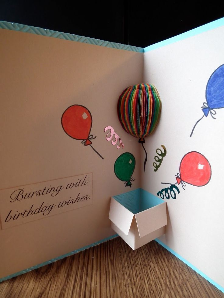 √41 + Handmade Birthday Card Ideas with pictures and steps - #image #birthday card #handmade #Ideen #mit #mom #steps #und - Diy And Crafts